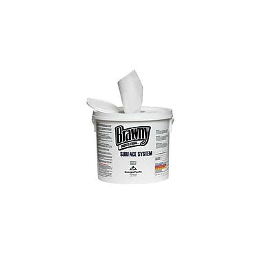 Brawny Industury Refill Surface System Disinfective Wipes, 12
