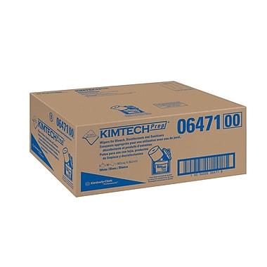 Kimberly Clark Kimtech Preperation Wipes, 90 Sheets/Roll, 6 Rolls/Case