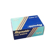 "Reynolds 701 Interfold Aluminum Foil Sheets, 8"" x 10-3/4"", 500 Sheets/Box, 3000/Case"