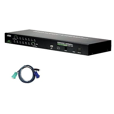 Aten® 16 Port IP KVM Switch with 16 Cables
