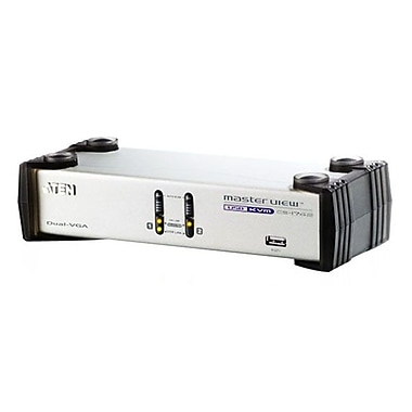 Aten® 2 Port-USB Dual-View KVMP Switch