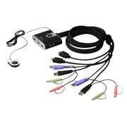 AtenMD – Commutateur KVM vidéo/audio HD à 2 ports USB