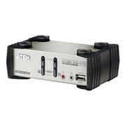 AtenMD – Commutateur KVMP 2 ports USB avec affichage à l'écran