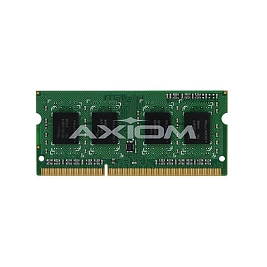 Axiom – Mémoire DDR3 SDRAM de 4 Go 1600 MHz (PC3 12800) SoDIMM à 204 broches (MB1600/4G-AX) pour MacBook Pro d'Apple