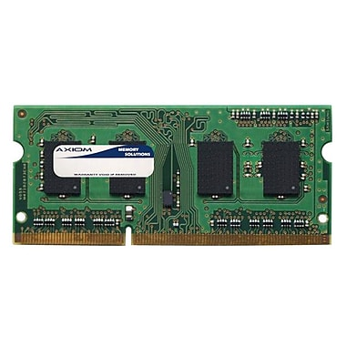 Axiom 4GB DDR3 SDRAM 1066MHz (PC3 8500) 204-Pin SoDIMM (PA3677U-1M4G-AX) for Port R700
