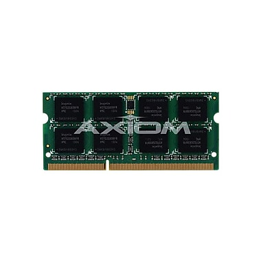 Axiom 4GB DDR3 SDRAM 1333MHz (PC3 10600) 204-Pin SoDIMM (PA3918U-1M4G-AX) for Qosmio F750