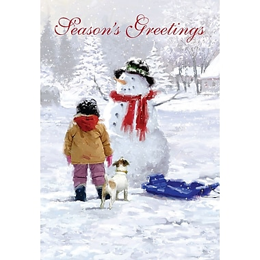 Cartes de Noël, Joyeux Noël depuis le Canada, 18/paquet