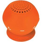 AudioSource Sound pOp 2 Water Resistant Bluetooth Speaker, Orange by