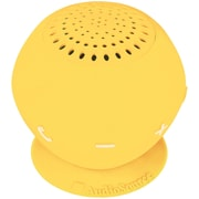 AudioSource Sound pOp 2 Water Resistant Bluetooth Speaker, Yellow by