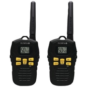 Olympia® R100 37-Mile 2-Way Radio, Black/Yellow