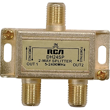 RCA ? Répartiteur à 2 voies 2,4 GHz Digital Plus (RCADH24SPR)