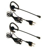 Midland – Écouteur AVP-1 avec bouton PTT et prises à 2 broches, noir (MDLAVP1)