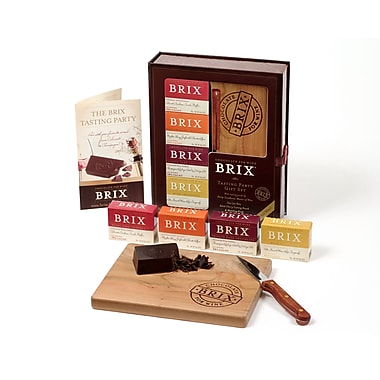 Brix Chocolate for Wine Lovers Tasting Party Gift Set