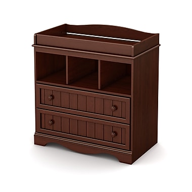 South Shore Savannah Collection Changing Table, Royal Cherry, 35