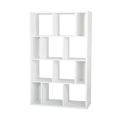 South Shore™ Reveal Shelving Unit With 12 Compartments, Pure White