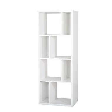 South Shore™ Reveal Shelving Unit With 8 Compartments, Pure White
