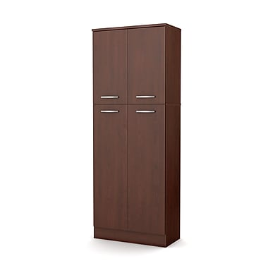 South Shore Axess Storage Pantry, Royal Cherry (7146971)
