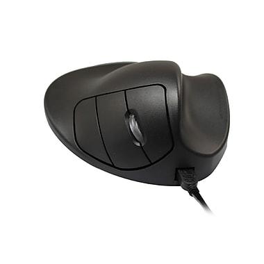 Hippus M2WBLC USB Wired BlueTrack Handshoe Mouse, Black