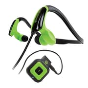 GOgroove Stereo Bluetooth GGBVCFT100BKEW Receiver and Sports Earphones
