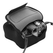 USA Gear USA Gear GEARSMFLEXSLVBLK Neoprene Camera Holster Case & Travel Pouch for Compact SLR