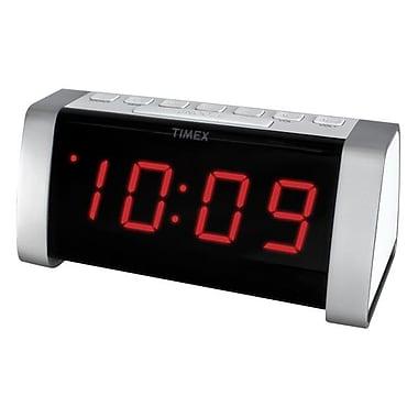 Timex T235 Dual Alarm AM/FM Clock Radio, White