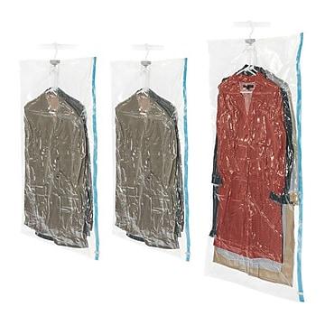 Whitmor Spacemaker Hanging Bags, 3/Set