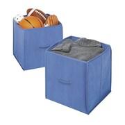 Whitmor Polypropylene/Fabric Collapsible Storage Cubes