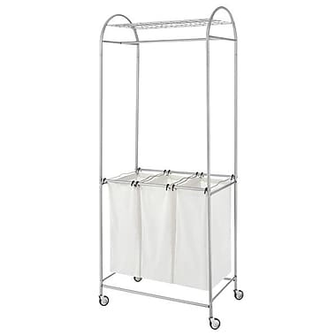 Whitmor Deluxe Laundry Center, Silver