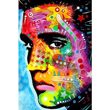 iCanvas ''Elvis Presley'' by Dean Russo Graphic Art on Canvas; 26'' H x 18'' W x 1.5'' D