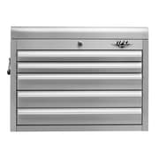 Viper Tool Storage 26''W 5-Drawer Top Chest; Stainless Steel