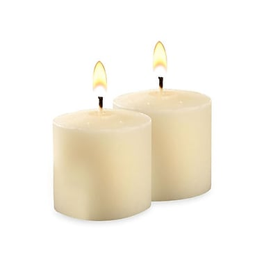 Yummi Unscented Votive Candles, Ivory, 10-Hour, 288 Candles/Box