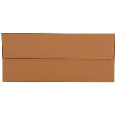 JamMD – Enveloppes commerciales nº 10 de 4 1/8 x 9 1/2 po, havane, 500/boîte