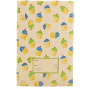 JAM Paper® Holiday Bubble Mailers, Large, 10.5 x 16, Party Cupcake Pattern, 6/pack (SS24LDM)