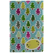 JAM Paper® Holiday Bubble Mailers, Small, 6 x 10, Colorful Christmas Tree Pattern, 6/pack (SS39SDM)