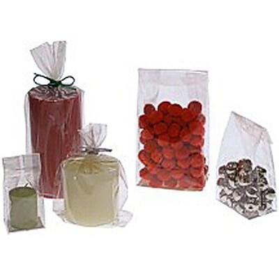 JAM Paper® FDA Cello Bag, Large, 4 x 2.5 x 9.5, Clear, 25/pack (FDA4)