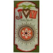 JAM Paper® Christmas Money Cards Set, Joy to the World Christmas, set of 6 (95227795)