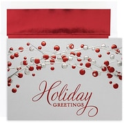 JAM Paper® Christmas Holiday Cards Set, Winter Wonderland, 16/pack (526M0814MB)