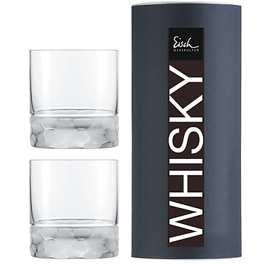 Eisch Hamilton Whisky Tube, 2/Pack