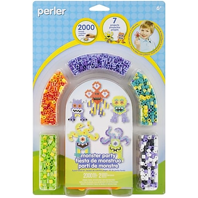 Perler® Fun Fusion Fuse Bead Activity Kit, Monster Party