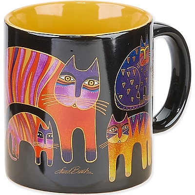 Laurel Burch® Artistic Collection Mug, Fantastic Feline Totem