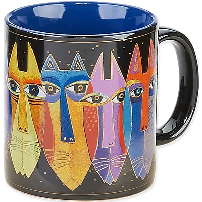Laurel Burch® Artistic Collection Mug, Tribal Cats