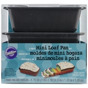 Wilton® Mini Loaf Pans, 3/Pack