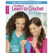 """Leisure Arts® """"A Fun Way to Learn to Crochet for Kids"""" Book"""