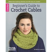 """Leisure Arts® """"Beginner's Guide to Crochet Cables"""" Book"""
