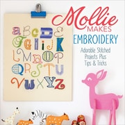 """F&W Media """"Mollie Makes Embroidery Adorable Stitched Projects Plus Tips.."""" Book"""