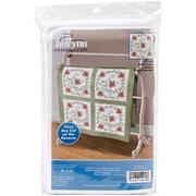 Janlynn® Swirl Of Flowers Quilt Blocks Stamped Cross Stitch Kit