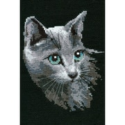 RIOLIS Russian Blue Counted Cross Stitch Kit, Multicolor