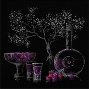RIOLIS Still Life with liquor Counted Cross Stitch Kit, Multicolor
