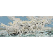 Janlynn® Seaside Horses Counted Cross Stitch Kit
