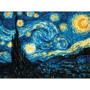 RIOLIS Starry Night After Van Gogh's Painting Counted Cross Stitch Kit, Multicolor